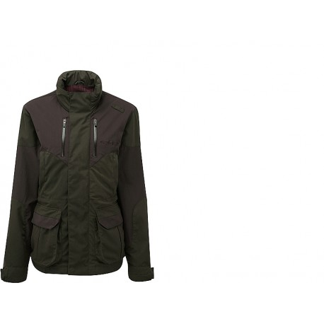 ShooterKing Highland Jacket (Dark Olive/Brown)